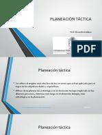 Tema 5 Planeacion Tactica i