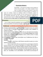 La Dissertation Sur Taine d