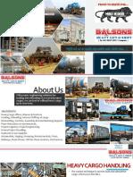 Balsons Profile Presentation
