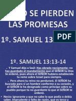 Como Se Pierden Las Promesas de Dios