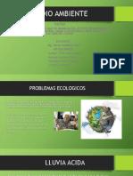 Problemas Ecológicos Medio Ambiente