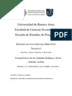 Ciudades hildagas y ciudades criollas - J.L. Romero