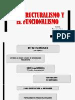 Estructuralismo y Funcionalismo