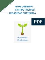 Plan de Gobierno Renaceras