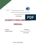 Dossier Seguimiento de Control