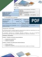 Guia de Actividades y Rúbrica de Evaluación -Post - Tarea - Evaluación Final Del Curso