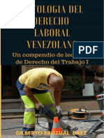 Libro Antología Del Derecho Laboral Venezolano