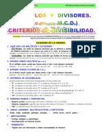 08 Multiplos y Divisores Criterios de Divisibilidad