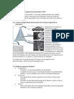 Ejercicios  Ciencia de los materiales