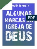 Algumas Marcas Da Igreja de Deus - Edward Dennett