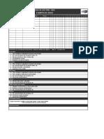 17. Checklist Preuso Equipos de Izaje - Contratista