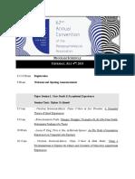 2019 PA Convention Provisional Program