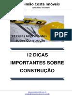 12 Dicas Importantes Sobre Construção