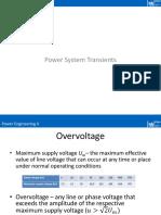 Power Engineering II - 10- Power System Transients