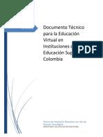 1. Doc Técnico para la Educación virtual en las  IES en Colombia.pdf