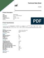 Descripción técnica Tecumseh TA 1370 FZ1