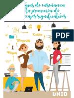 Estrategias de enseñanza para la promoción de aprendizajes signi