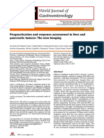 Prognostication and Response Assessment in Liver and Pancreatic TumorsThe New Imaging