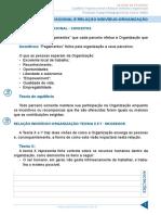 Equilíbrio Organizacional e Relação Indivíduo Organização