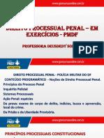 Direito Processual  - Resolucao de Exercicios