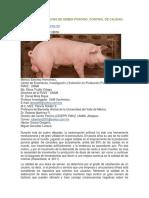 PROCESO DE DILUCION DE SEMEN PORCINO