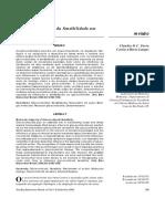 Aspectos Moleculares Da Sensibilidade Aos