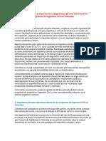 Reflexiones sobre la importancia y diagnóstico del área estructural en programas de ingeniería civil en Colombia.docx
