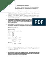 Trabajo de Cálculo Diferencial
