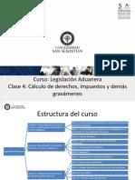 Clase Legislación Aduanera