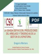 Seminario Dehesas Gregorio Montero