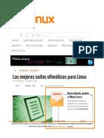 Paquetes de office para Linux