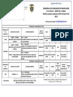 Agenda - Desarrollo de Habilidades de Negociacion - 2019 i Periodo 16-02 (612)