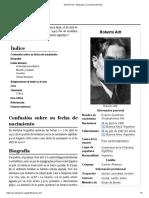 Roberto Arlt - Wikipedia, La Enciclopedia Libre