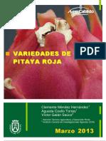 Variedades de Pitahaya Roja