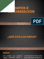 2- Datos e Informacion