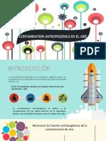 Contamination Antropogenica en El Aire