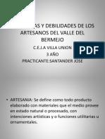 Fortalezas y Debilidades de Los Artesanos Del Valle