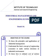 Chapter 1 Introduction to industrial managment