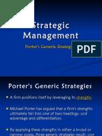 porters generic strategy