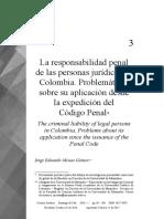 La Responsabilidad Penal en Colombia