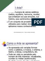 Introdução a Estética e História da Arte (Aquitetura e Urbanismo)