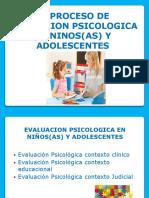 El Proceso de Evaluacion Psicologica en Ninos y Dolescentes