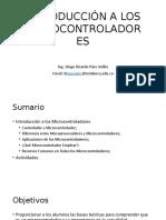 Clase Introducción a Microcontroladores