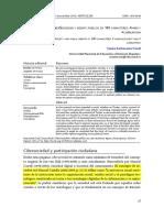 Cibersociedad y Debate Público en 140 Caracteres Paro y Corrupcion