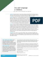 Bayley-III Cognitive and Language