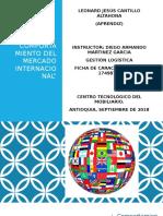 """Evidencia 2 Presentación """"Comportamiento Del Mercado Internacional"""""""