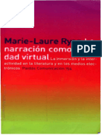 La narración como realidad virtual - Marie-Laure Ryan.pdf