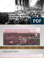 América Latina. Segunda mitad del Siglo XX