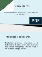 Productos Auxiliares Textiles