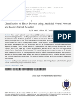 Clasificación de la enfermedad cardíaca mediante la red neuronal artificial y la selección de subconjuntos de funciones.pdf